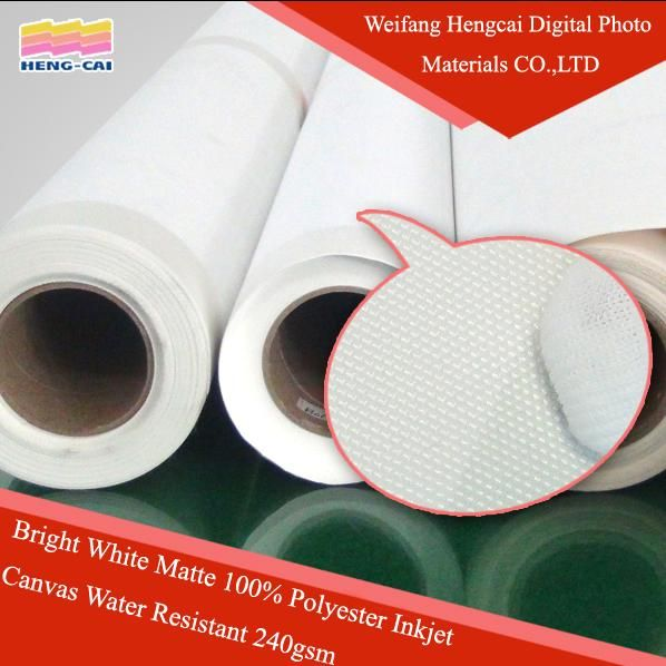 Waterproof Inkjet Stretched Canvas