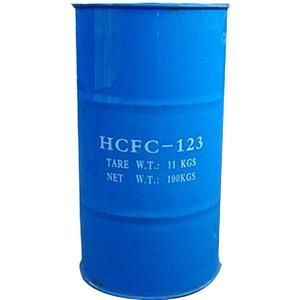 Refrigerant R123 packing in 200L drum