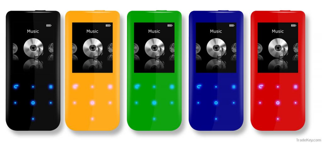 2014 New Colorful Bluetooth MP4 Player 4 GB