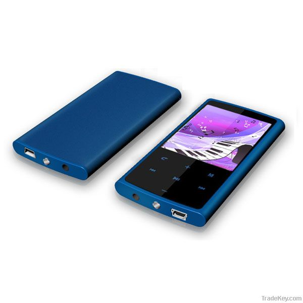 Super Slim New MP4 Player 2.4 Inch TFT Touch Screen with Bluetooth