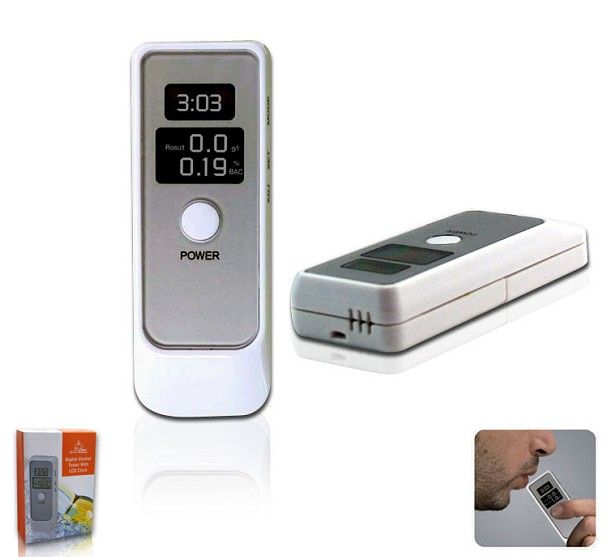 LCD Alcohol Tester Breathalyzer Breathalizer Breath Tester