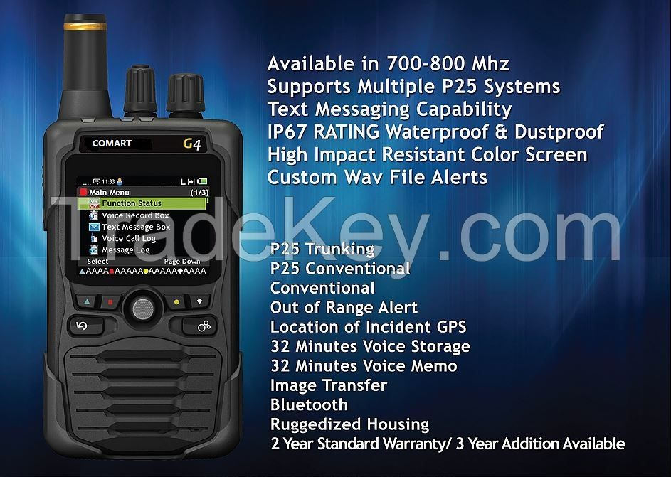 G4 digital voice pager