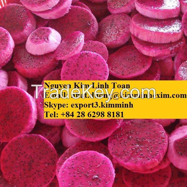 Frozen Dragon Fruit/Pitaya (White/Red Flesh)
