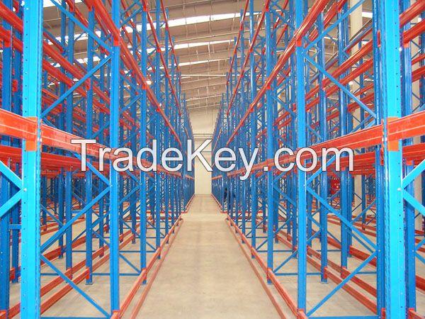 75mm Hole Pith Heavy Duty Adjustable Warehouse Steel Pallet Rack
