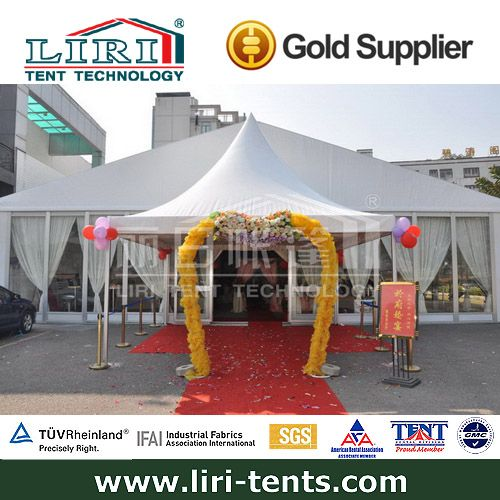 High quality and beautiful transparent wedding tent