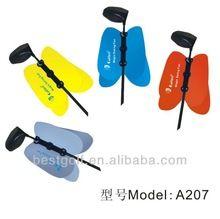 Best Golf Magic Swing Fan Pinwheel Power Swing Fan Golf Swing Practice A207 Grey JMA Golf Glove