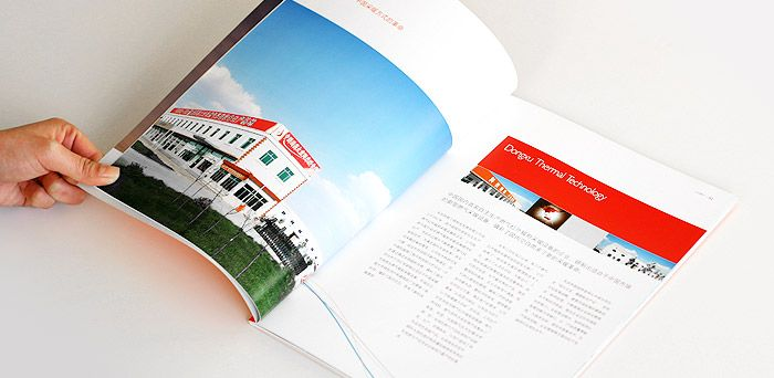 hardcover catalogue printing