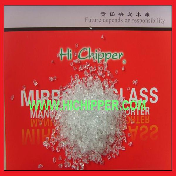 Crushed glass  without chemical for water purifier