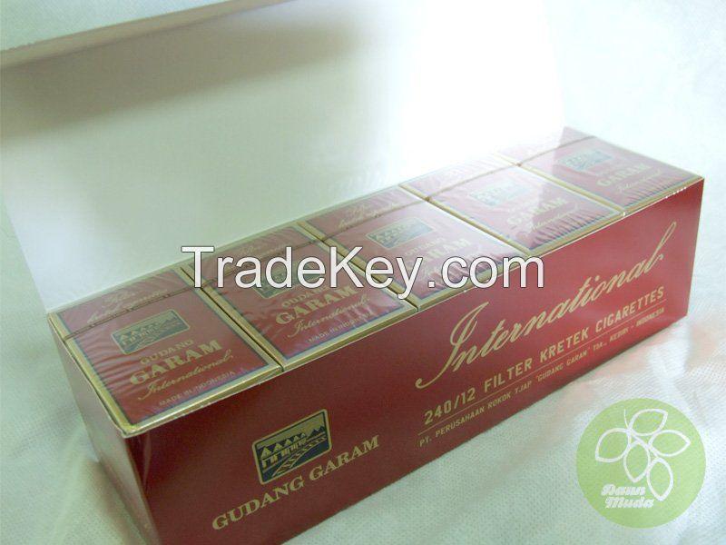 Gudang Garam Cigarette , Kretek Cigarette, Clove Cigarette for sale