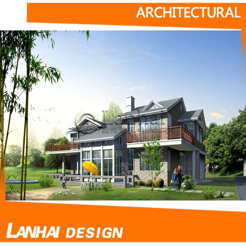 Prefabricated Beautiful Wooden House