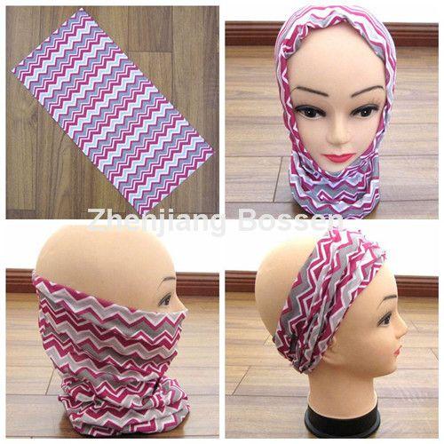 Promotional polyester microfiber seamless multifunctional bandana scarf