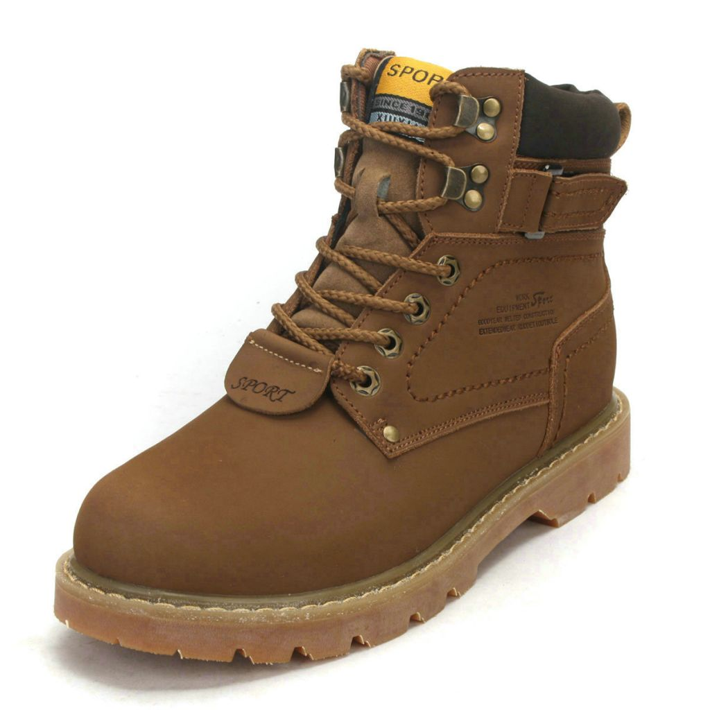New arrive Fashion mens boots leather outdoor sports casual shoes sneakers casual boots