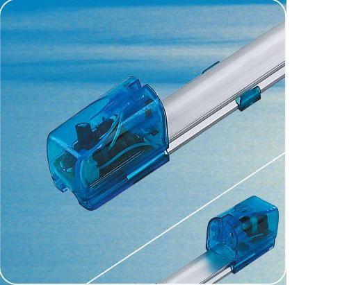 Electronic fluorescent lamp fixtures