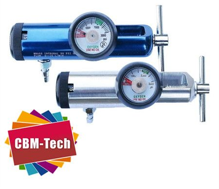 Click-style Medical Aluminum Oxygen Regulator