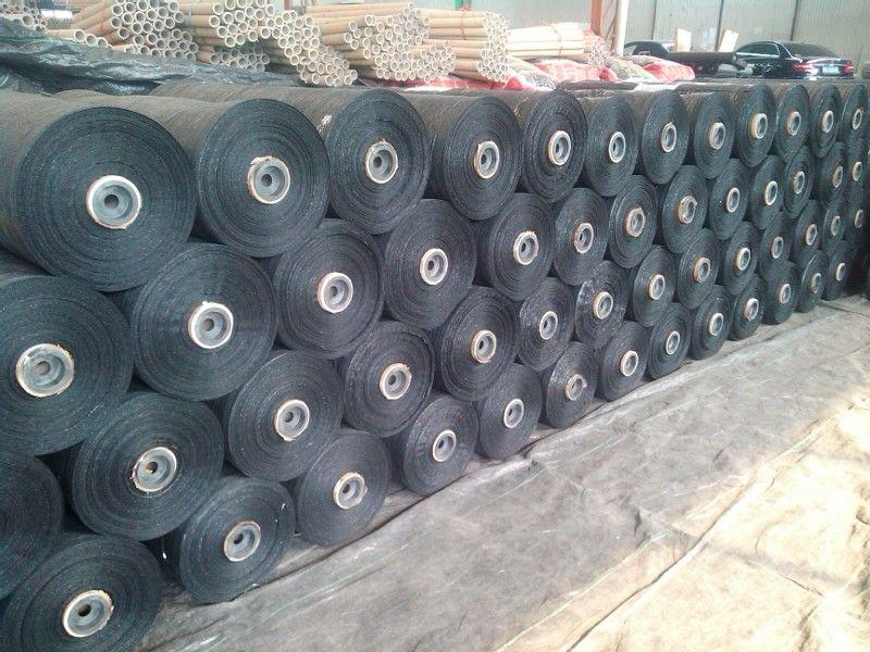 pp woven fabric ground cover wed mat silt fene