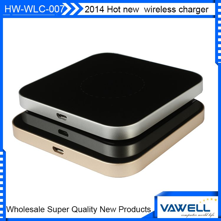 2014 new wireless charger qi wireless charger  for iphone5