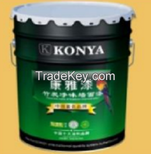 Bamboo-charcoal removal-odor wall paint