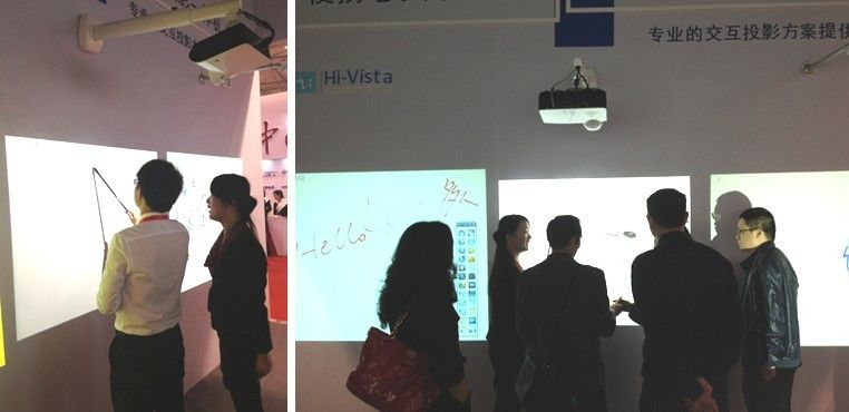 The cheapest DLP Short-throw Interactive Projector with E-pointer