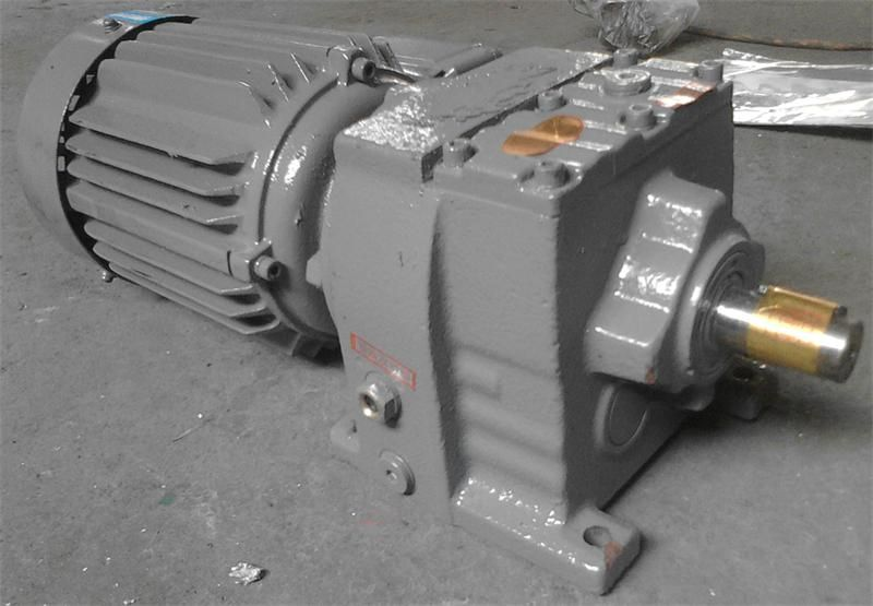 0.37KW  WR17 foot-mounted electric small cylinder gear units with ac motor