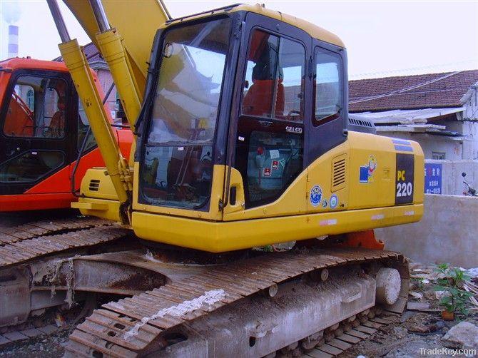 Used Kamatsu Excavator