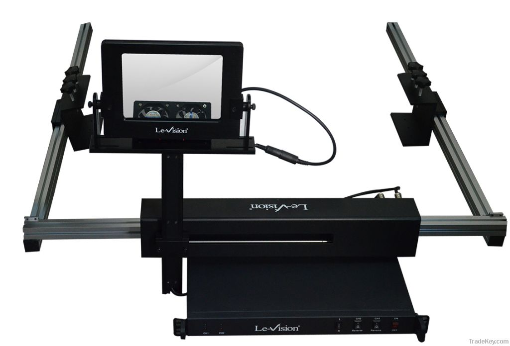 passive 3D polarizer system for digital cinema