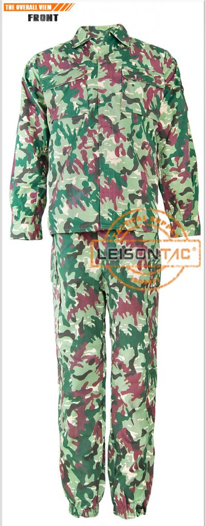 ZDF-26 Military Camouflage Uniform with ISO Standard