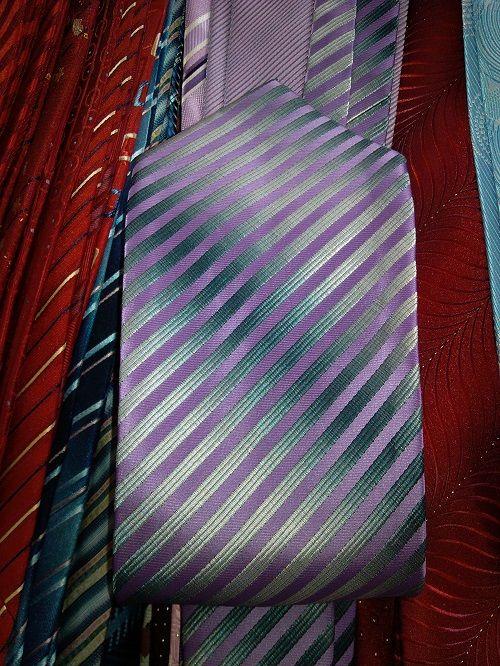 polyester men's ties