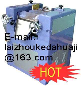 three rollers machine for coating painting ink hot sale