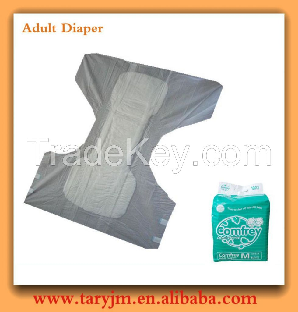 Thick dry surface adult diapers with cheap price