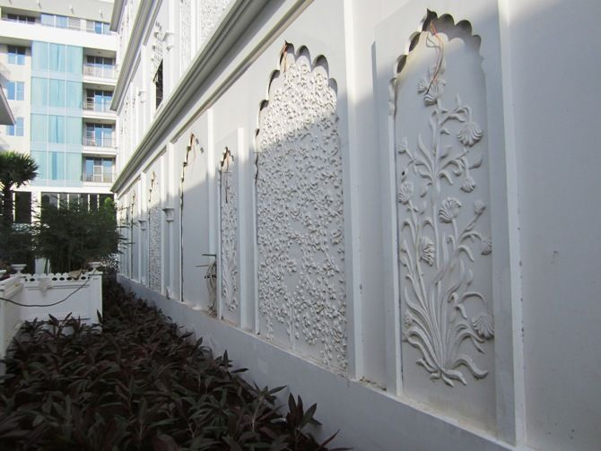 GRC panel, GRC wall cladding, GRC pattern decoration By