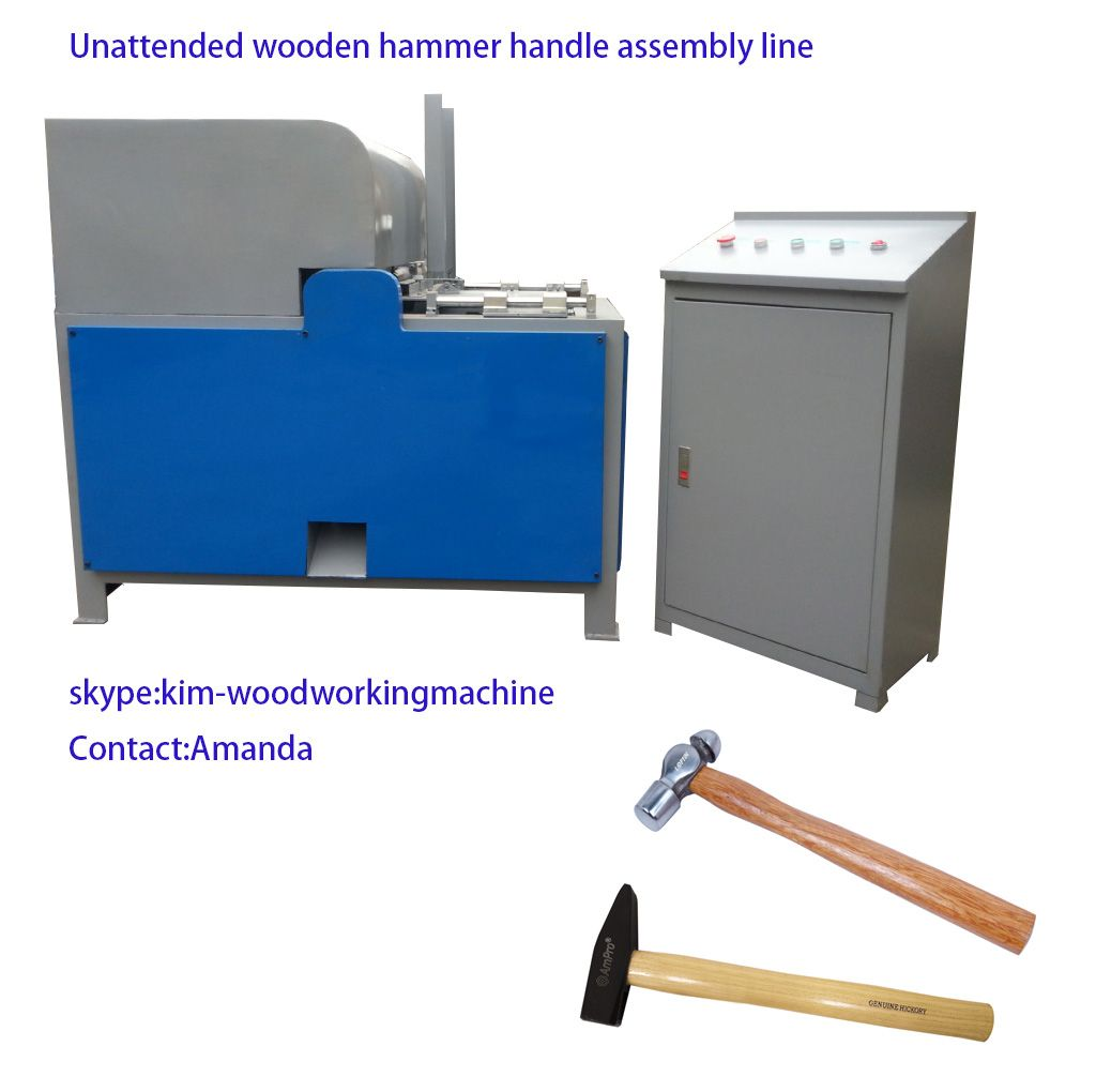 Hammer handle machine machine wooden handle making machine
