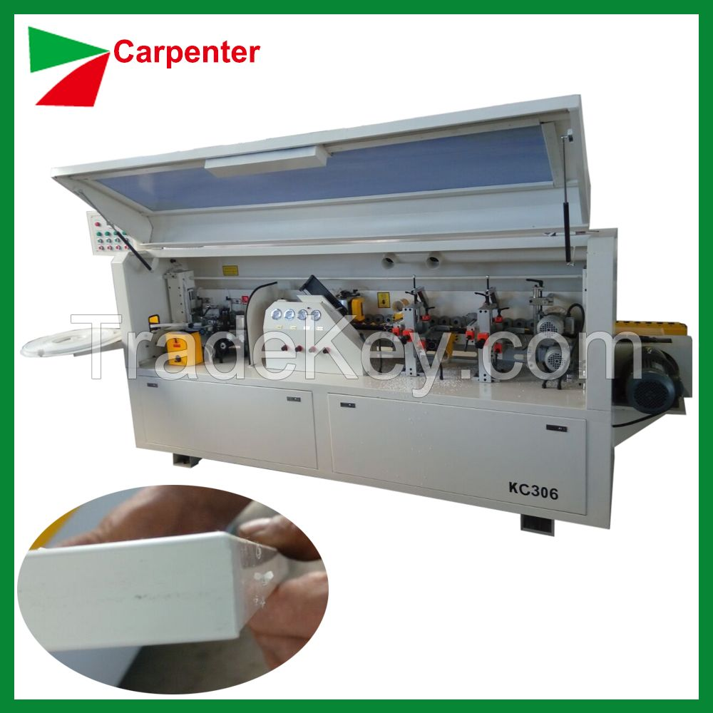 Full automatic edge banding machine for office MDF made furniture