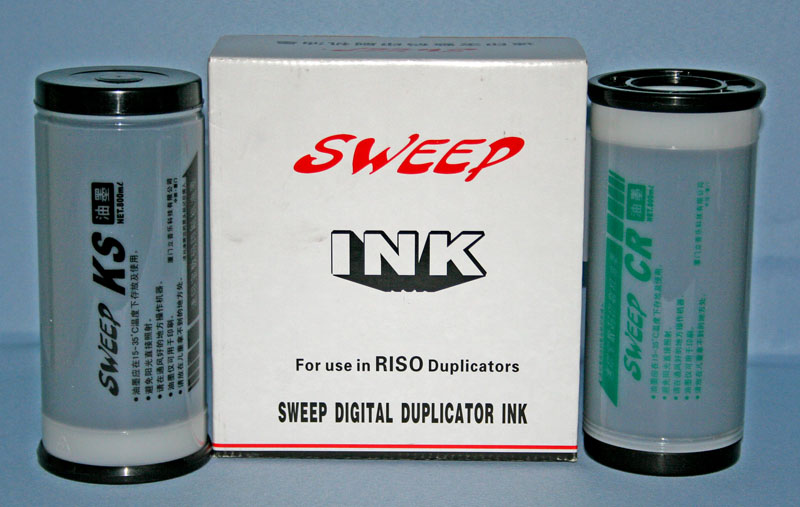 Ink For Riso, Ricoh, Duplo, Gestetner Series Duplicators