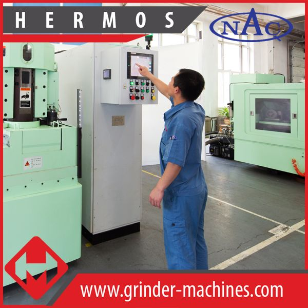CNC vertical double-surface grinding machine