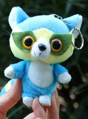 plush promotion owl  keychain