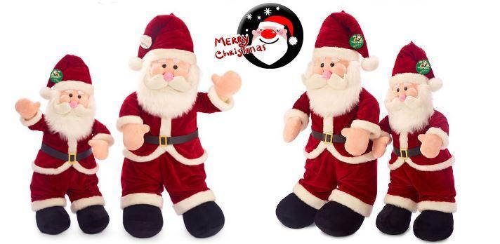 Christmas Santa Plush Toy