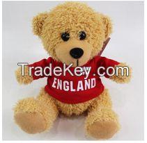 Custom Top Quality Logo Printed Teddy Bear