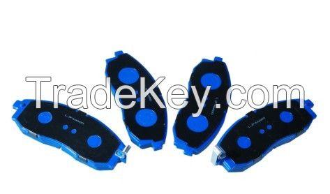 Low-metallic/semi-metallic/ceramic/ heavy-duty disc brake pad