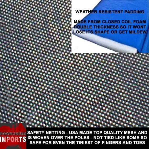 Safety Net trampolines