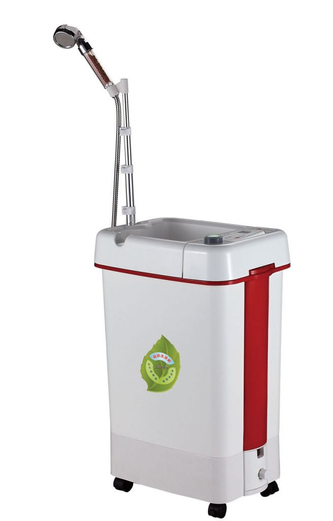 The water storage type electric water heater smart mobile Xima mobile bathing machine