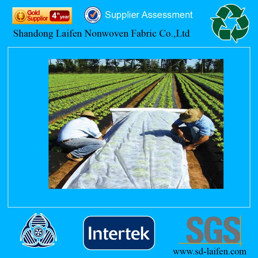 polypropylene spunbond nonwoven fabric for weed control