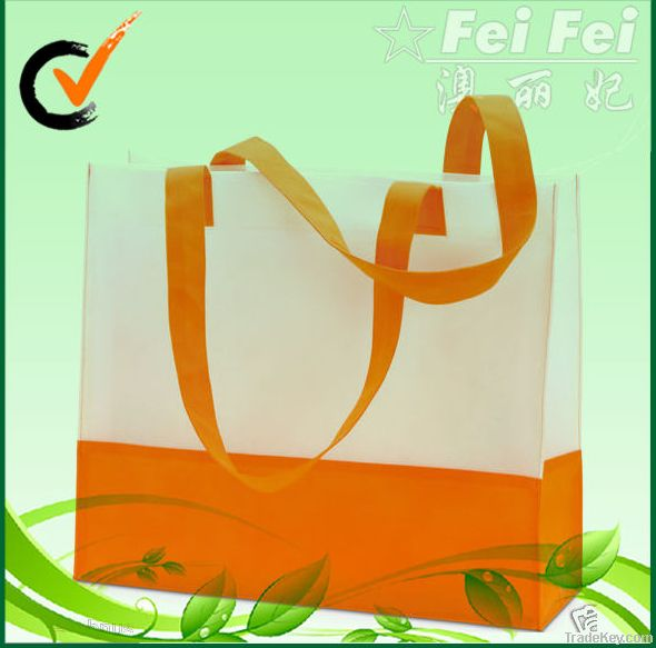 Customized handled non woven shopping bag