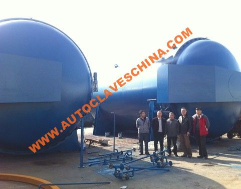 Giant Autoclave for Tires Industry