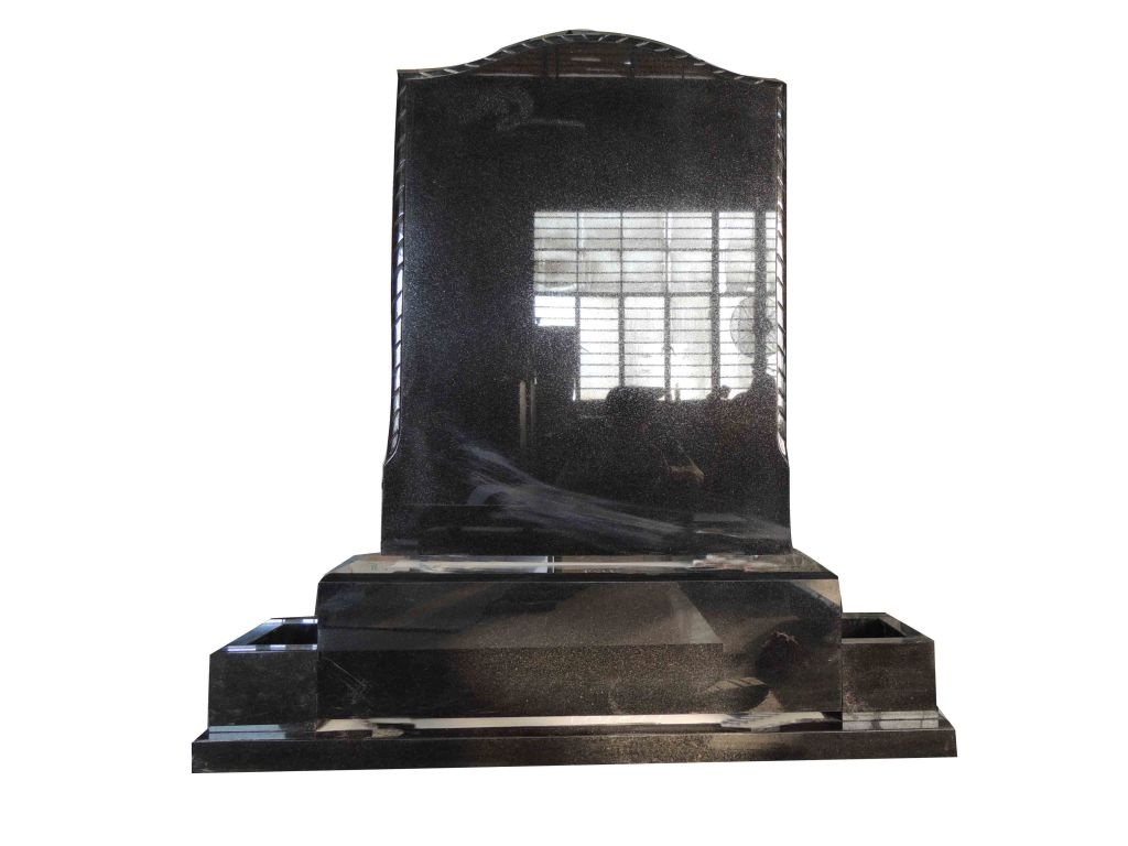 Book gravetone, shanxi black gravetone