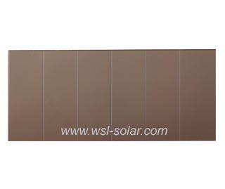 3V 102uA indoor Amorphous Solar Cell