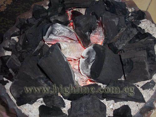 hard wood, soft wood, charcoal
