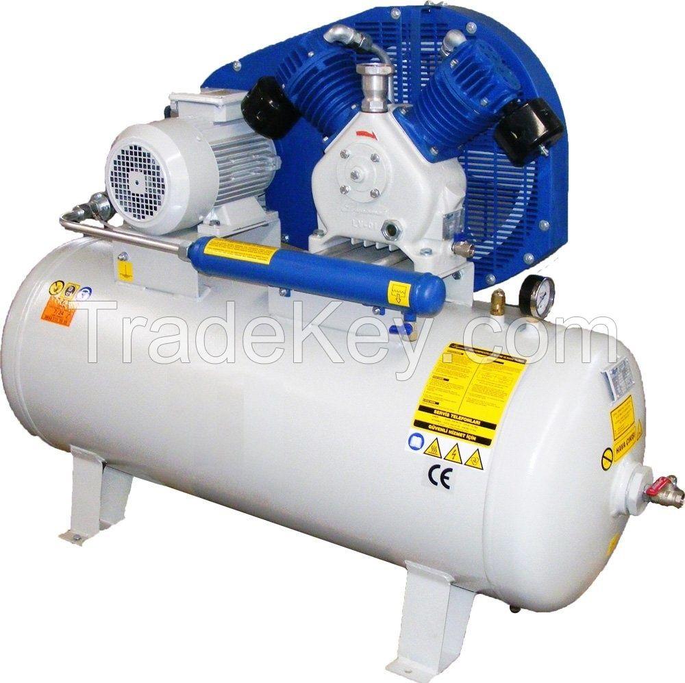 Reciptioning Air Compressor 3 - 7.5 HP 8 BAr