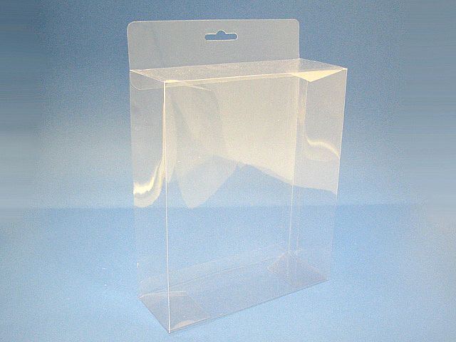 Unique Soft Crease PVC plastic boxes with UV printing