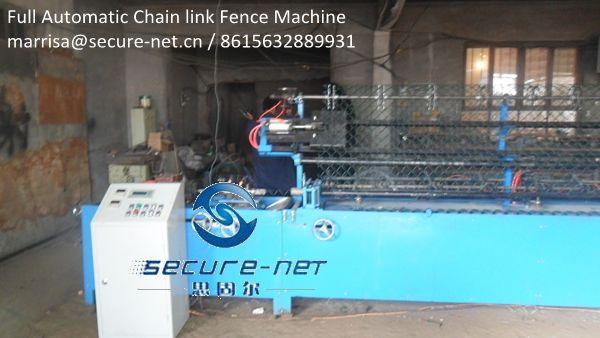 Auto Chain Link Fence Machine