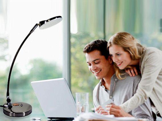 European Design Rotatable Table Lamp